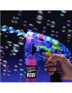 Muilo burbulų šautuvas su garsais