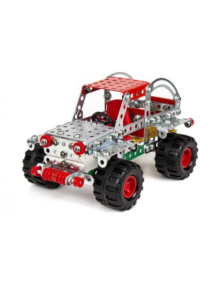 """Technok """"Auto"""" metalinis konstruktorius lagaminėlyje"""