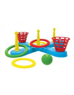 """Technok žaidimas """"Pataikyk kamuolius ir žiedus"""""""