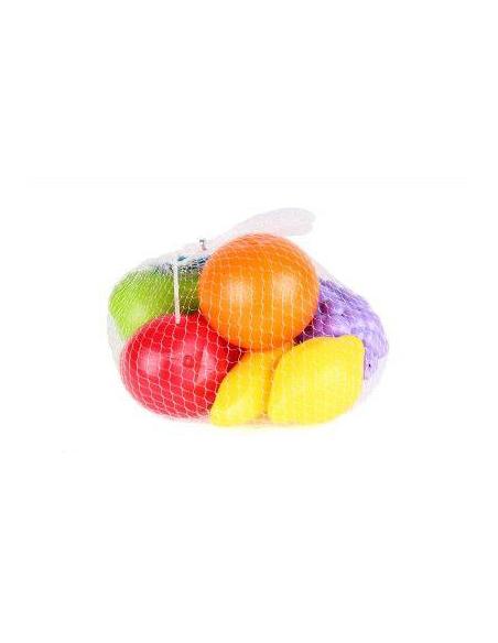 Plastikinių vaisių rinkinys 14vnt.