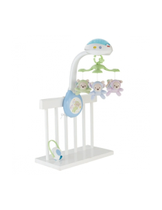 Muzikinė karuselė Fisher Price 3 in 1 Butterfly Dreams.