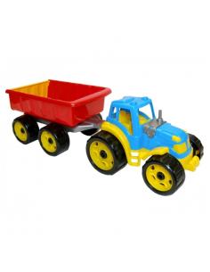 Technok traktorius su priekaba