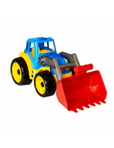 Technok traktorius su kastuvu