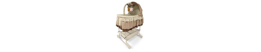 Medinės lovytės, lopšiukai ir maniežai | isparduotuve-vaikams.lt